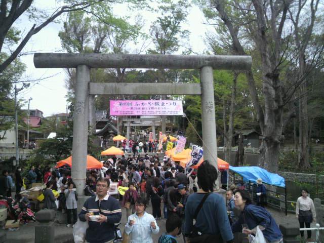 瀧宮神社 ふかや桜まつり
