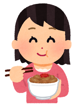 syokuji_gyudon_woman